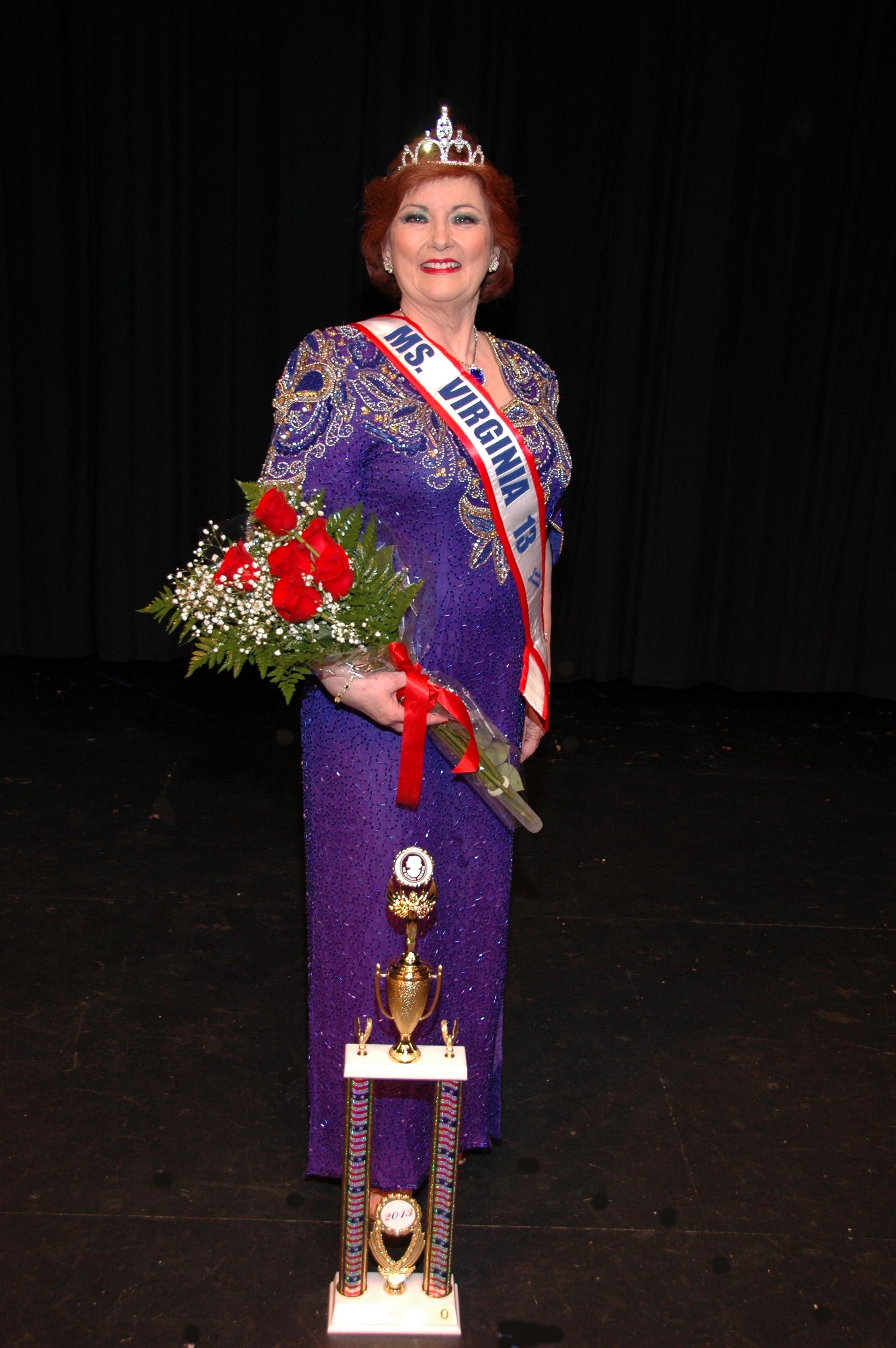 Our newly crowned Ms. Virginia Senior America is also the winner of
